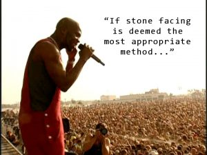 DMX in concert - Stone Facing